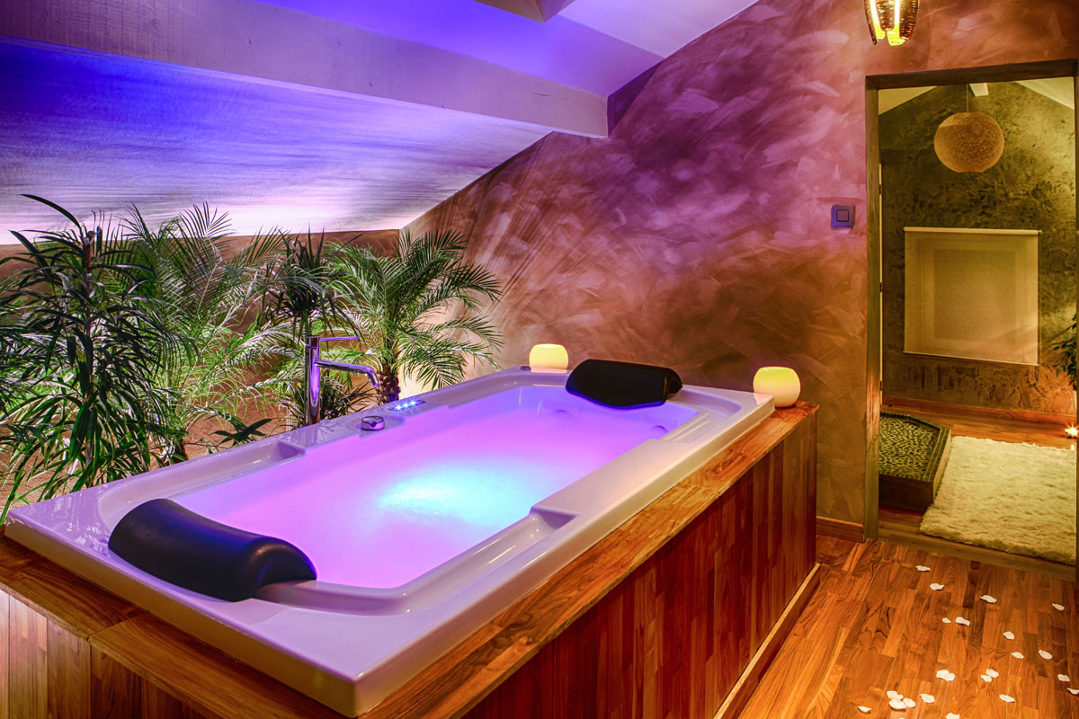 Suite cocoon for Week end chambre jacuzzi